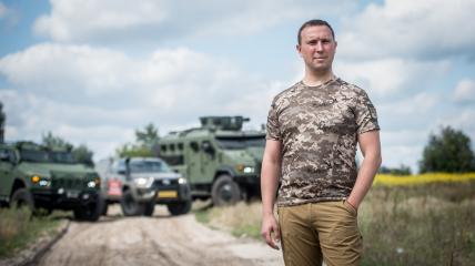 Генеральний директор «Української бронетехніки» Владислав Бельбас