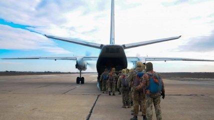 В Николаевской области морпехи ВСУ осуществили десантирование с двух самолетов