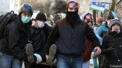 Минздрав: Число жертв беспорядков в Украине возросло до 28 человек