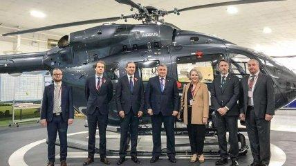 Аваков договорился с руководством Airbus о поставках новых вертолетов для МВД