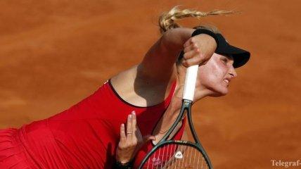 Ястремская дала бой второй ракетке мира на турнире в Риме (Видео)