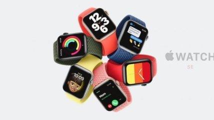 """Смарт-часы Apple Watch SE: """"Сочетает в себе элементы дизайна Series 6 с наиболее важными функциями Apple Watch"""" (Фото)"""