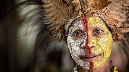 Вокруг мира: колоритные снимки папуасов из Папуа-Новой Гвинеи (Фото)