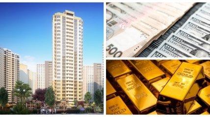 В детей, недвижимость или валюту: куда вкладывать украинцам накопленные средства