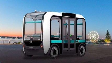 Local Motors сконструировала автономный микроавтобус-робокар Olli (Фото)