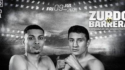 Небитый мексиканский боксер избил непобедимого американца (видео)
