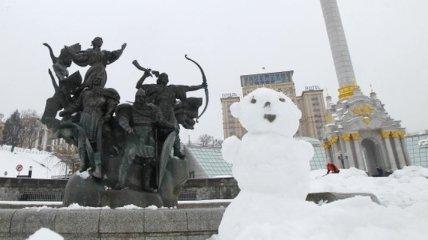 Штормовое предупреждение объявлено в Украине