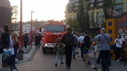 В киевском метро произошло задымление