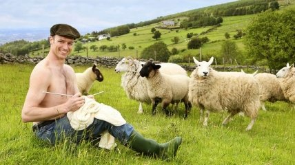 Веселый календарь ирландских фермеров 2019 года (Фото)