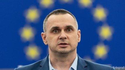 Депутаты ЕНП на встрече с Сенцовым назвали стратегическую цель ЕС в отношении Украины