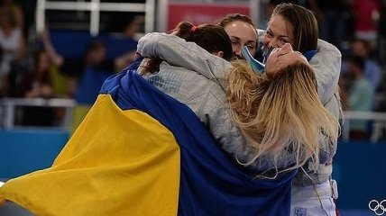 Сборная украинских саблисток – бронзовый призер чемпионата Европы