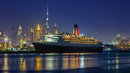Плавучий рай: старый королевский лайнер переделали в пятизвездочный отель (Фото)
