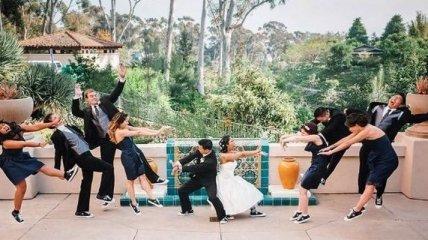 Самые смешные свадебные снимки (Фотогалерея)