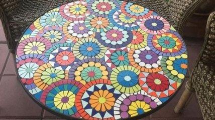 Идеи использования мозаики в дизайне сада и дачи (Фото)