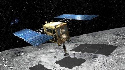 """""""Хаябуса-2"""" собрал образцы с поверхности астероида"""