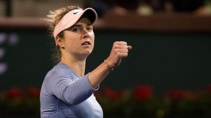 Свитолина вырвала победу во втором круге турнира в Индиан-Уэллсе
