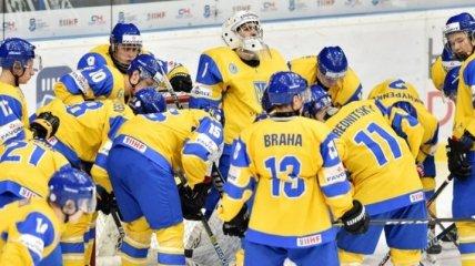 Сборная Украины по буллитам обыграла Италию на ЧМ по хоккею