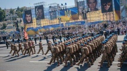 День Независимости: в Киеве состоялся военный парад