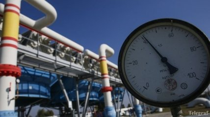 Хранилища газа в Украине заполнены до половины