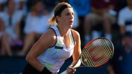 Павлюченкова одолела Кики Бертенс на пути в 1/4 финала турнира в Осаке