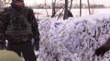 Рождество на Дебальцевском плацдарме (Видео)