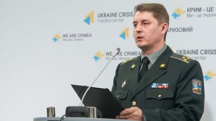 Мотузяник: Один украинский военный ранен в зоне АТО