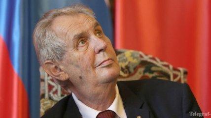 В Чехии может расколоться коалиция из-за решения Земана