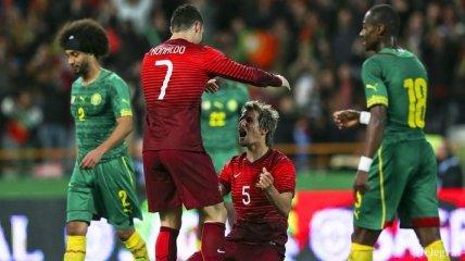 Криштиану Роналду - лучший бомбардир в истории сборной Португалии