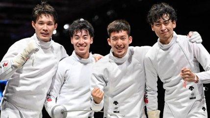 Японские шпажисты в финале Олимпиады разбили россиян
