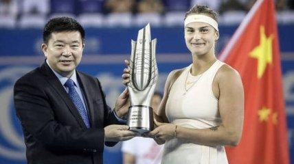 Обидчица Свитолиной стала победительницей престижного турнира в Китае
