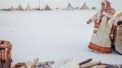 Жизнь людей на полярном круге (Фото)