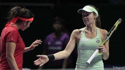 Хингис и Мирза завоевали титул на турнире в Сиднее