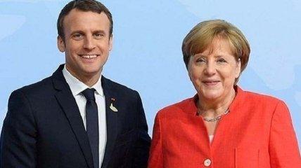 Нет более эффективных способов: Меркель и Макрон не поддержали идею Зеленского сменить формат переговоров