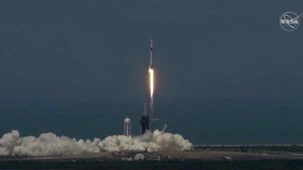 В США успешно отправили на орбиту ракету Crew Dragon с астронавтами NASA