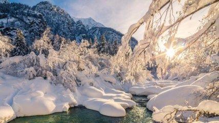 Места, где зима сказочно прекрасна (Фото)