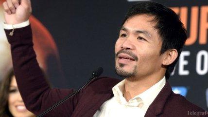 Паккьяо высказался о бое Альварес-Хан