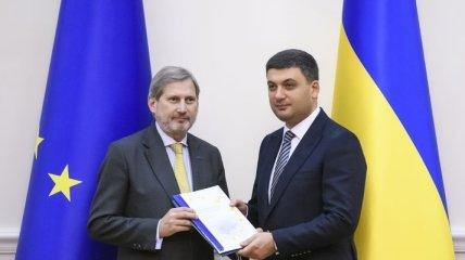 В Еврокомиссии оценили ход выполнения Украиной соглашения об ассоциации с ЕС