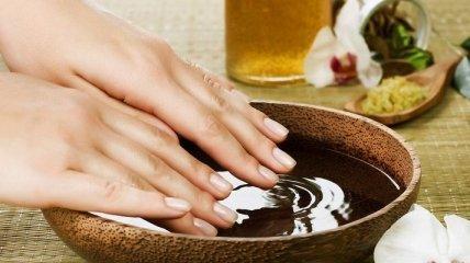 Список питательных ванночек для ногтей зимой