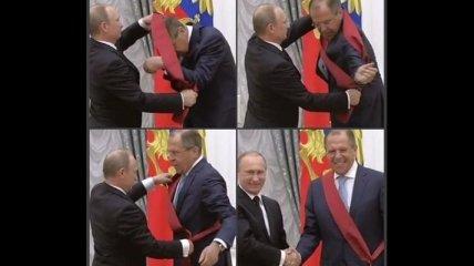 Путин наградил Лаврова