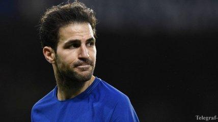 Фабрегас сегодня сыграет последний матч за Челси