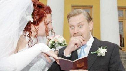 Приколы, которые случаются на свадьбах (Фотогалерея)
