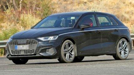 Вскоре состоится премьера нового хэтчбека Audi A3