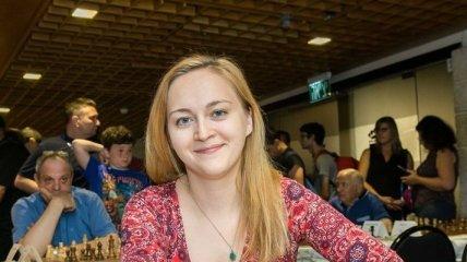 Украинка Ушенина стала пятой на международном турнире по шахматам в Китае