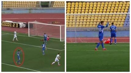 Виталий Бойко радовался голу в свои ворота