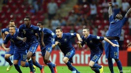 Сборная Франции выиграла молодежный Чемпионат мира