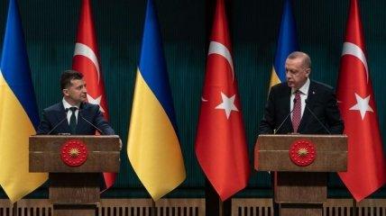 Визит президента Турции в Украину: план мероприятий
