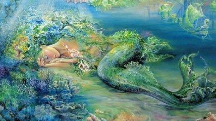 Жозефина Уолл: неземные картины и скульптуры английской художницы (Фото)