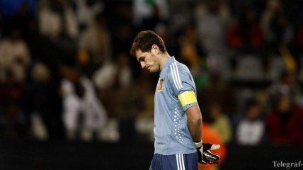 Моуриньо: Касильяс должен остаться основным вратарем сборной Испании