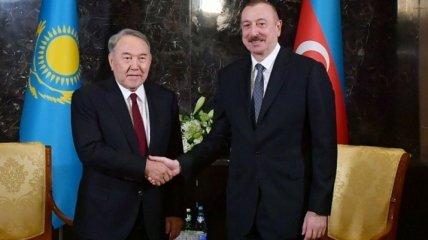 Назарбаев налаживал экономические отношения с Алиевым