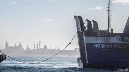 "Спасательная миссия возобновила работу на пароме ""Норман Атлантик"""